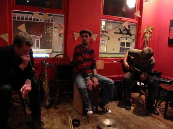 zeke clough robin? dave birchall noise upstairs 14th october manchester